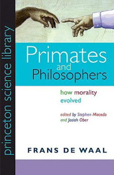 """Primates and Philosophers"" - How morality evolved"