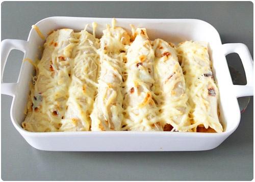 Enchiladas Au Poulet