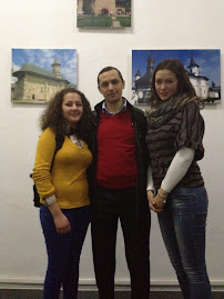Împreună cu elevele Laura Neacşu şi Betty Savin (cls. a X-a) la Muzeul de Istorie, 24.01.2013...