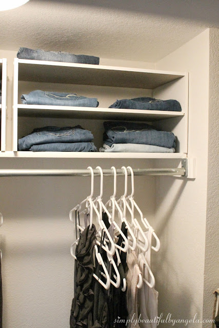 Simply Beautiful By Angela 3 Space Saving Closet Tips