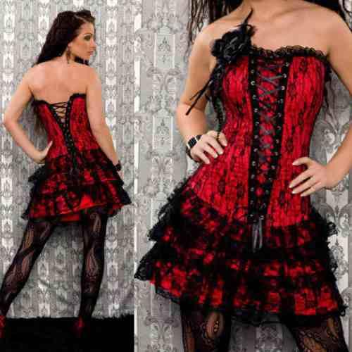 Vestidos con corset para fiesta