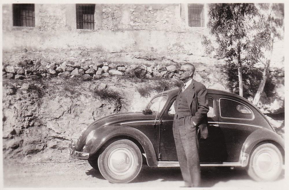 Volkswagen Escarabajo, lugar desconocido, años 50