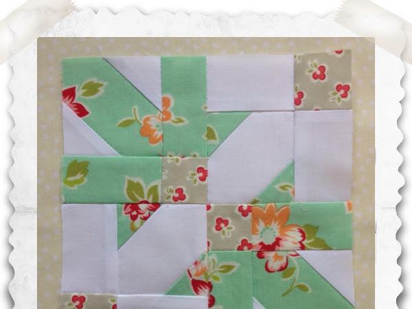 Chatelaine- Free BOW Sampler Quilt Block 34