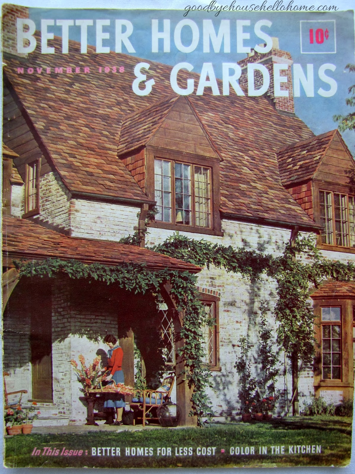 Goodbye House Hello Home Blog November 1938 Better Homes and