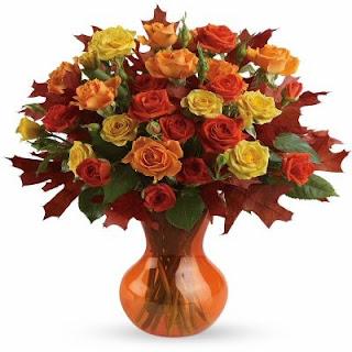 Teleflora Fabulous Fall Roses