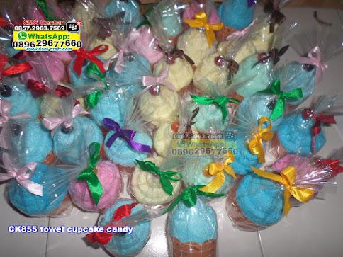 towel cupcake candy murah
