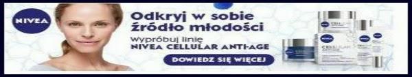 Obraz: baner reklamowy kremu Nivea cellular anti-age