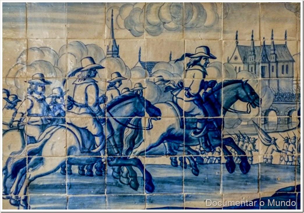 Sala das Batalhas; Palácio dos Marqueses de Minas; Azulejos Portugueses