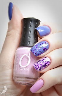 Orly Cashmere Cardigan + Orly Lollipop + Orly Can't Be Tamed