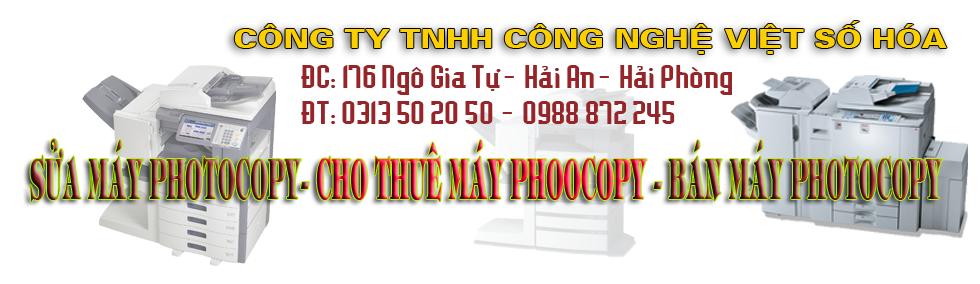 Sua may photocopy Hai Phong, sửa máy photocopy tại Hải Phòng