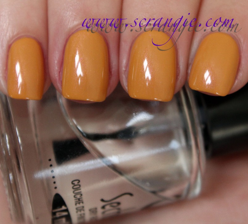 Honey Yellow Nail Polish: Scrangie: Preview Of My New Polish Line