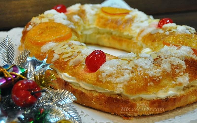 Mis recetas com roscones de reyes de nata y trufa - Roscones de reyes ...