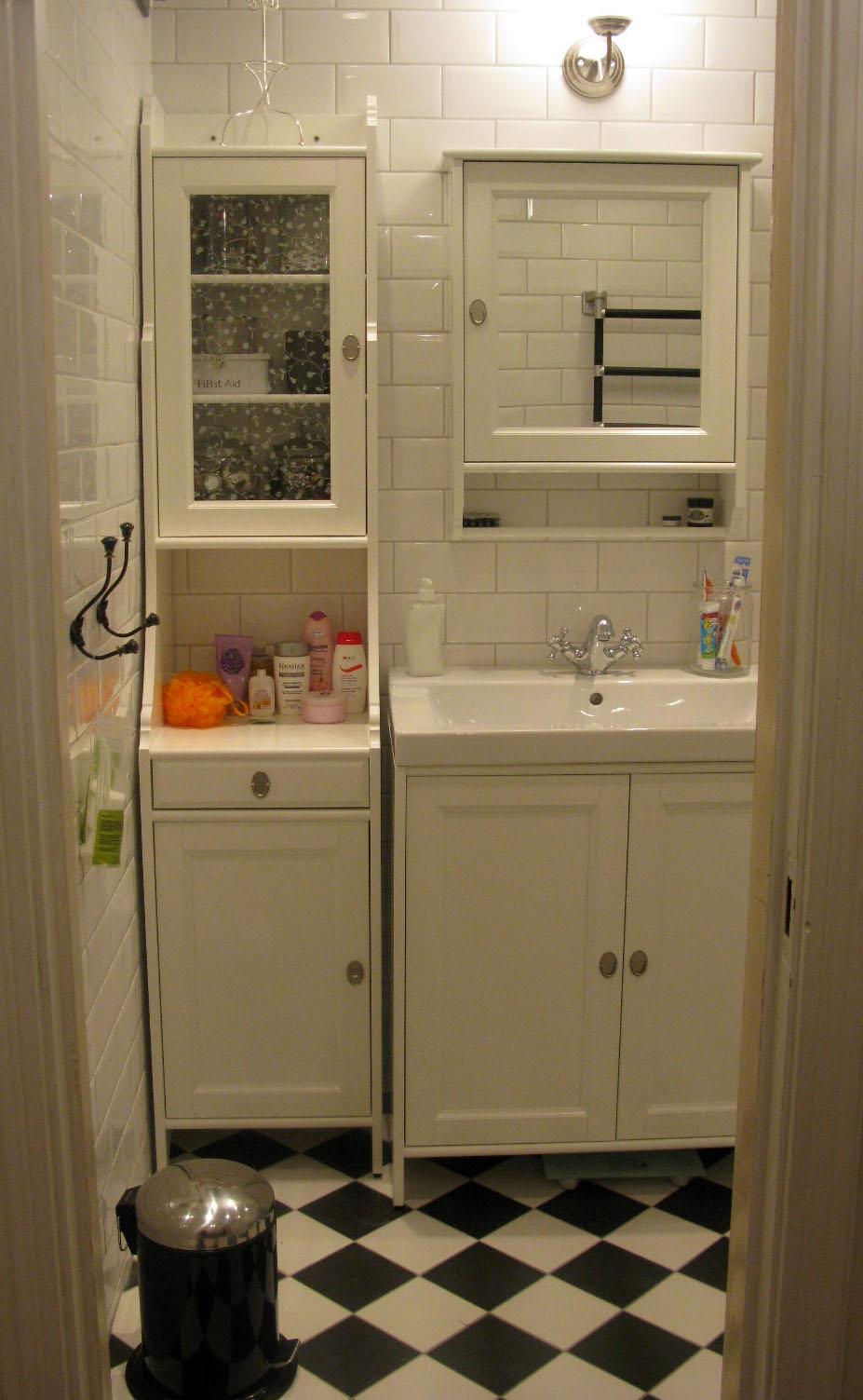 Änglahus: Hej nya badrummet!