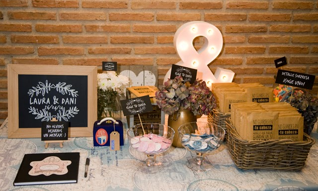 detalles de boda originales decoración hermanas bolena shop