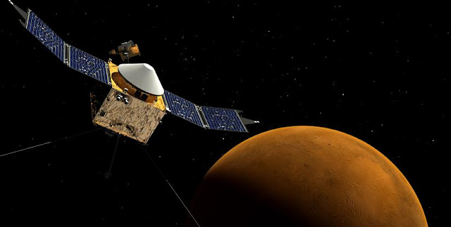 MAVEN spacecraft. Credit: NASA