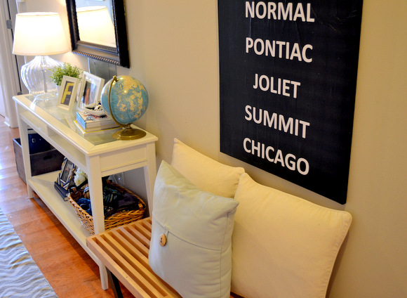 DIY Subway Art: Design Your Entryway | DIY Playbook