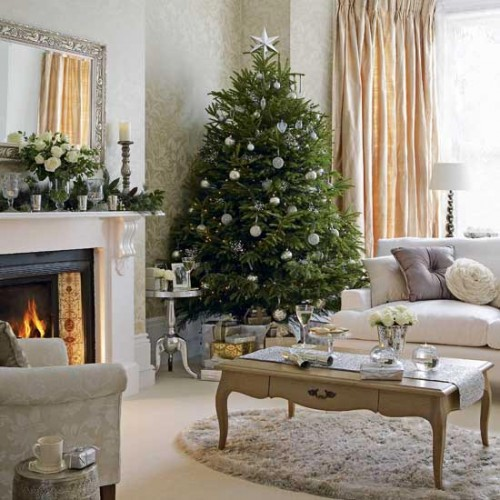decoracao arvore de natal natural:Christmas Tree Decorating Ideas