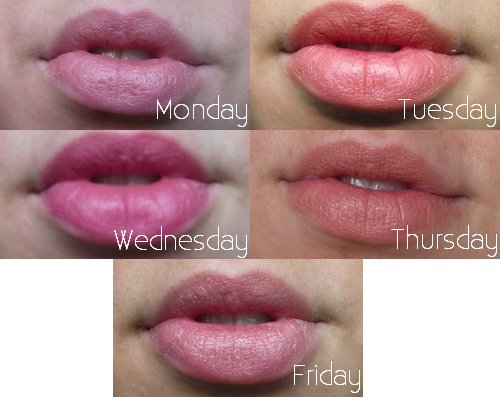 week-of-drugstore-bargain-lipsticks