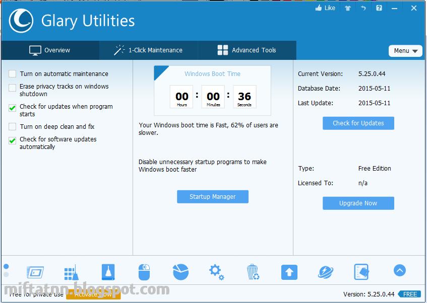 Software Peningkat Kinerja Dan Pembersih Pc Glary