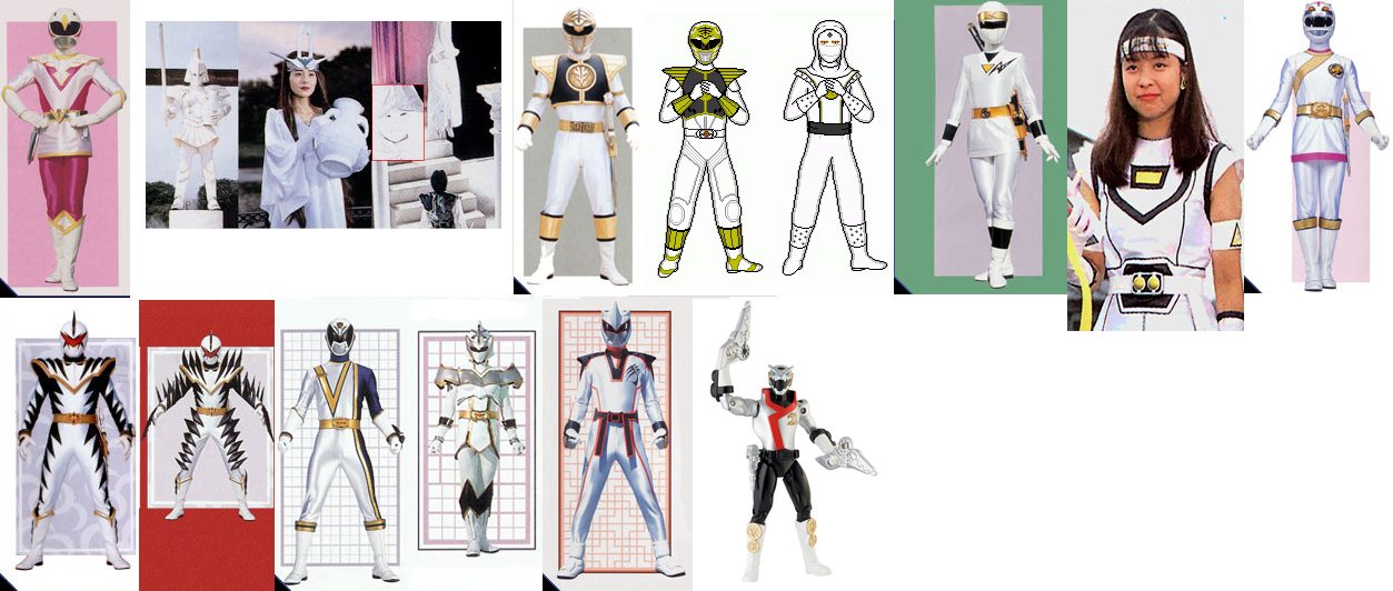 Power Rangers 20 Actual Years Part 7  White RangersWhite Mystic Ranger
