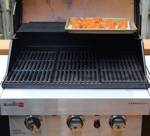 gas grill, indirect heat on gas grill,
