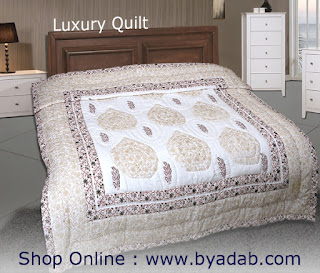 Some of the well-known benefits of quilts may include extra warmth and comfort