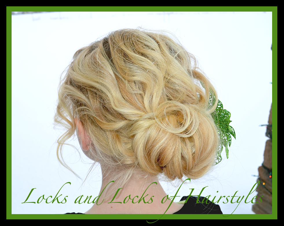 and Easy Video Tutorials: Easy & Quick Up-Do for SHORT & THIN Hair