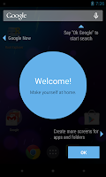 Updated Google Launcher screenshots