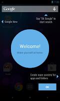 Updated Google Launcher screenshots