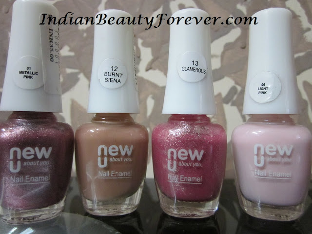 new u nail paints