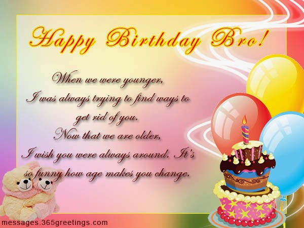 Birth Day Quotes Wishes For Brother Poetry Lovers