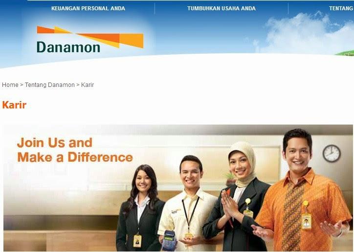 Lowongan Kerja Di Bank Danamon Indonesia