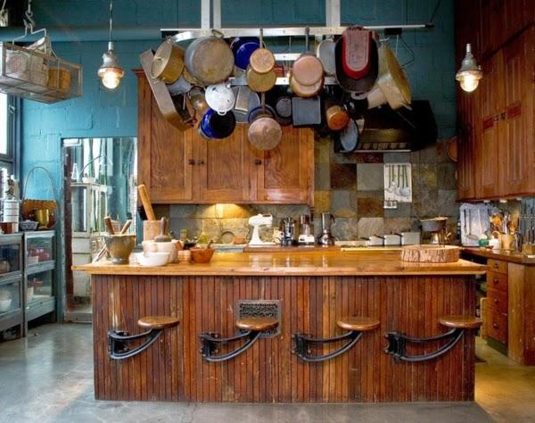 C mo decorar una cocina r stica colores en casa - Como decorar una casa rustica ...