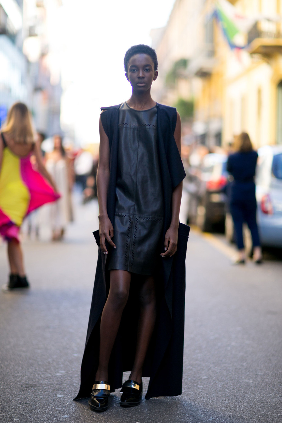 Model Street Style: Milan Fashion Week Spring/Summer 2016 ...