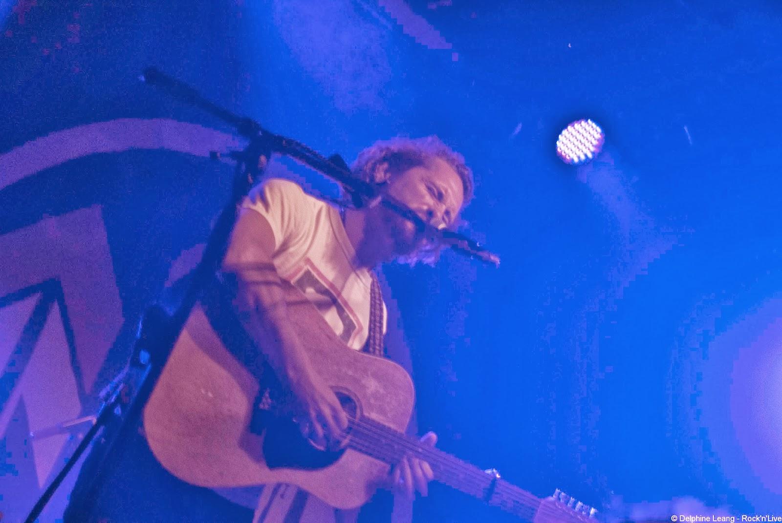 John Butler Trio Concert Nouveau Casino Paris Rock'n'Live Live Report Delphine Leang Flesh & Blood Only One Ocean Byron Luiters Grant Gerathy Better Than