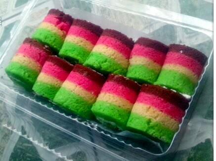 Cara Membuat Rainbow Gulung Dan Tips Menggulung Tidak Pecah