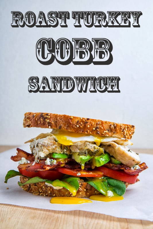 Roast Turkey Cobb Sandwich