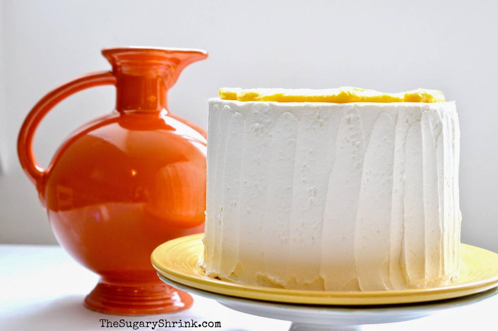 Vanilla Mango Layer Cake