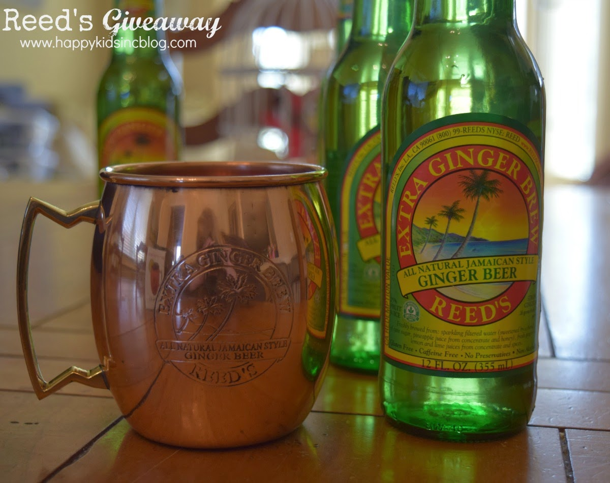 Reed's Ginger Brew Giveaway