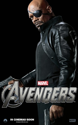 The Avengers Character One Sheet Movie Poster Set 2 - Samuel L. Jackson as Nick Fury