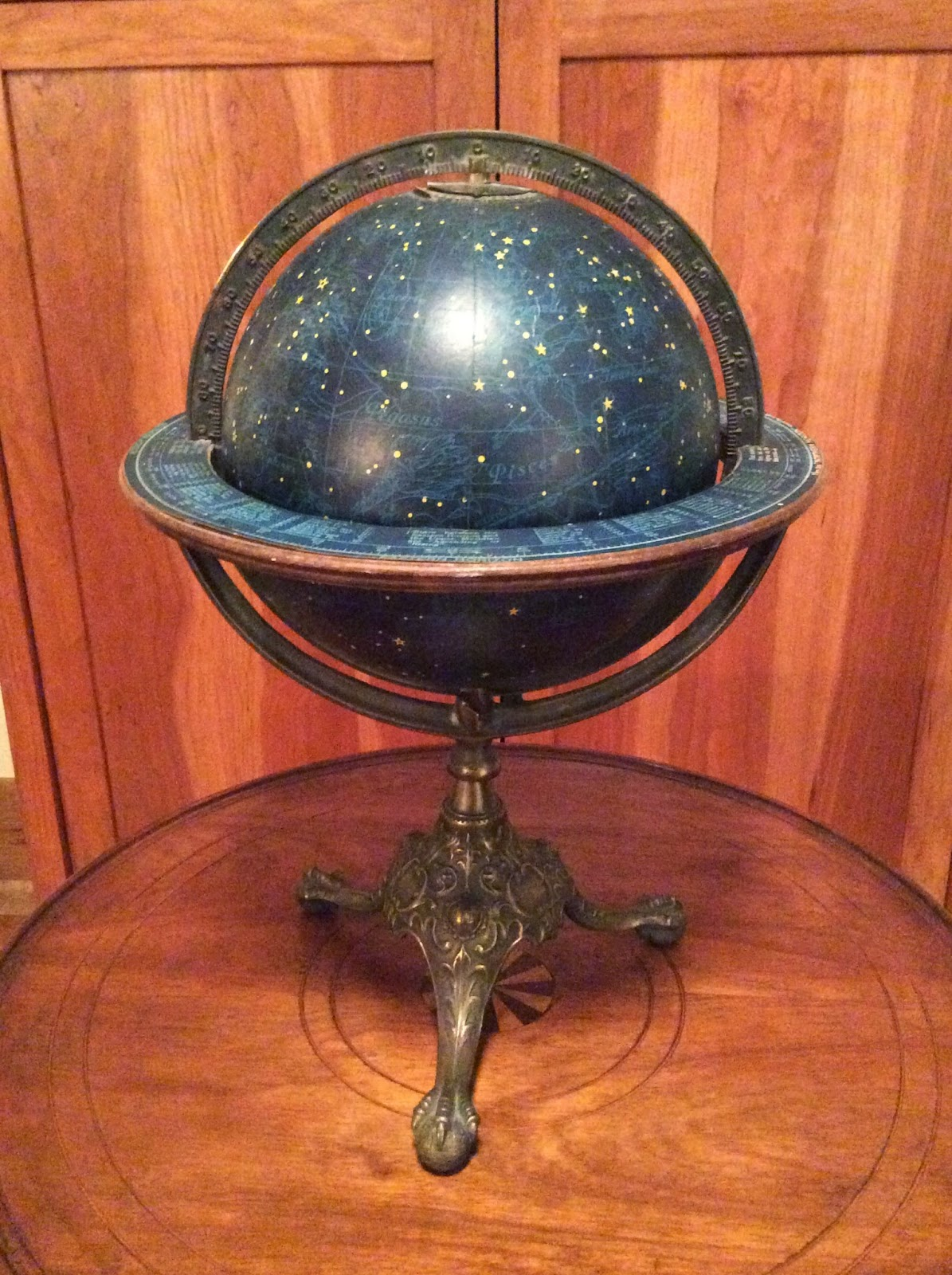 Collecting Antique And Vintage Globes The Celestial Globe