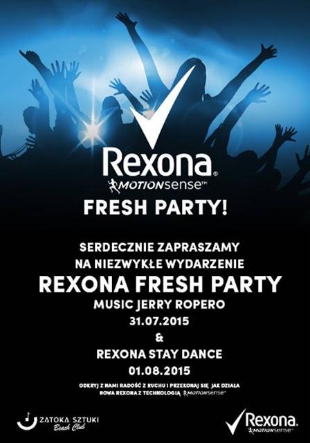 #rexonastaydance - 1 sierpień 2015 REXONA STAY DANCE
