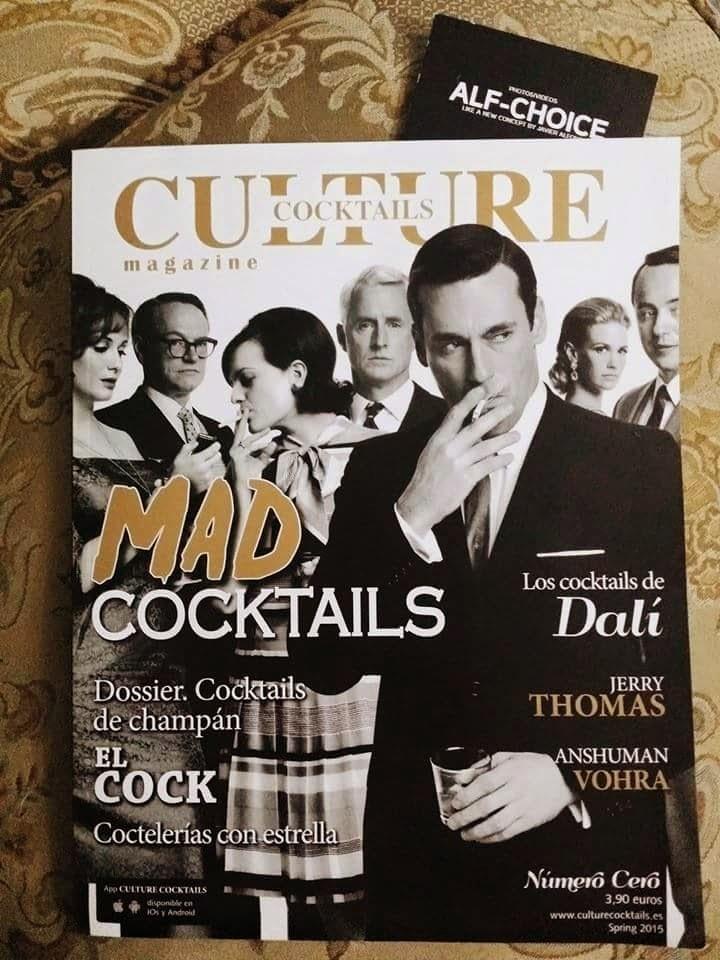 Portada Culture Cocktails Magazine