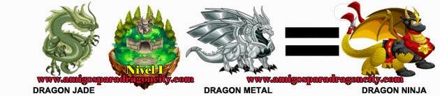 como obtener el dragon ninja en dragon city formula 2