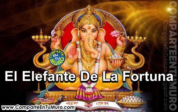 Comparteentumuro comparte el elefante de la fortuna - Como ahuyentar la mala suerte ...