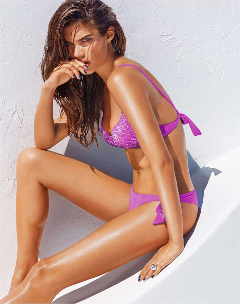 Sara Sampaio for Calzedonia Summer 2014
