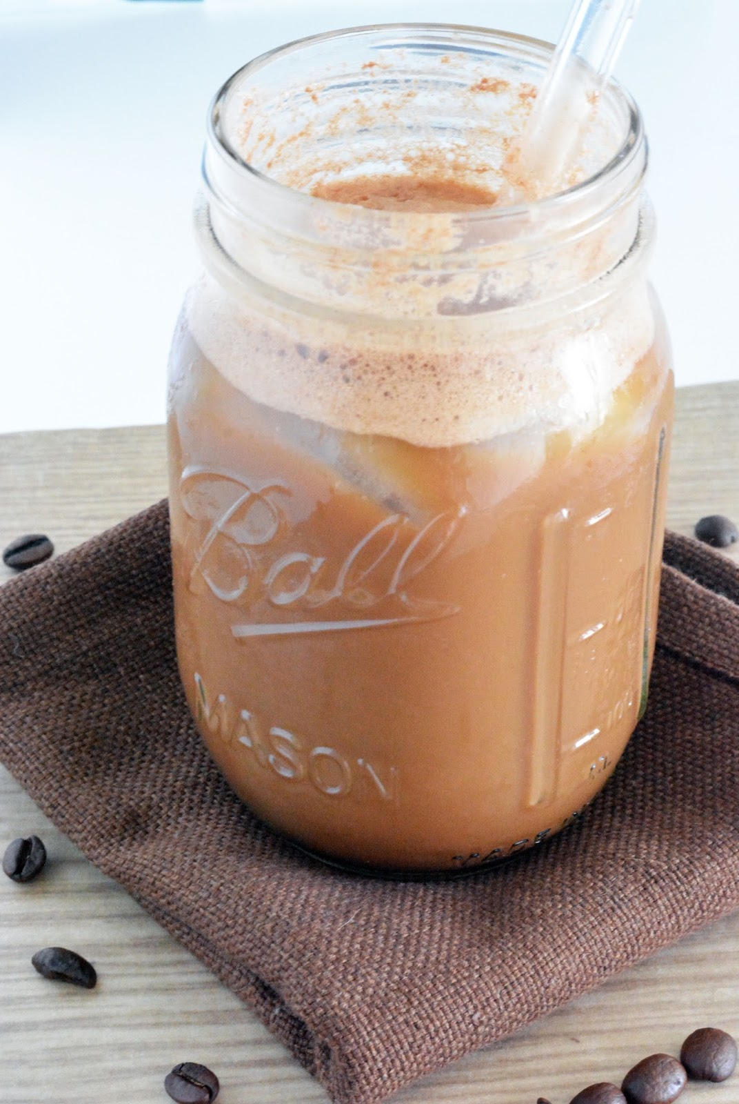 Get this delicious recipe for Nutella iced coffee!