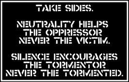 Take sides