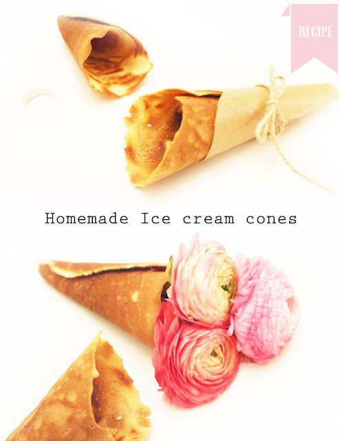 Homemade Sugar Cones Recipe — Dishmaps