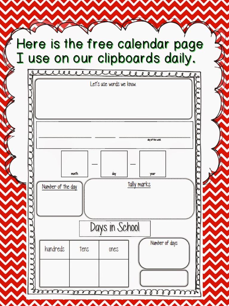 http://www.teacherspayteachers.com/Product/Daily-Calendar-News-246310